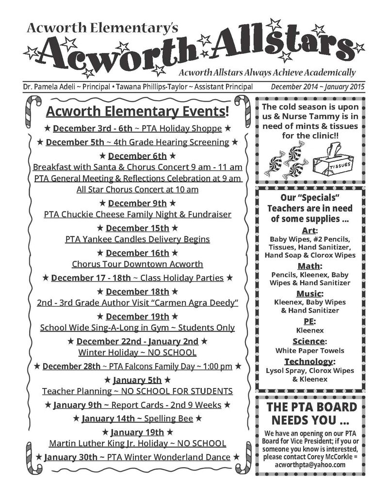December - January PTA Newsletter_Page_1