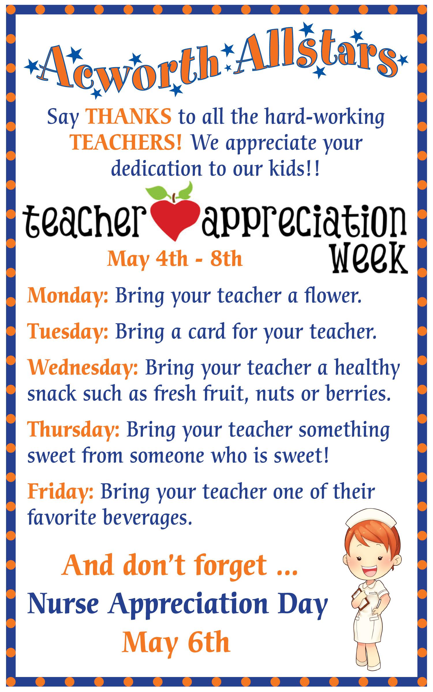 Teacher Appreciation Day Letter How Write Invitation Letter