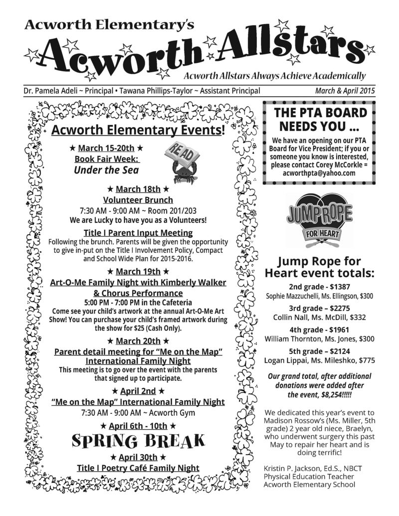 March-April 2015 PTA Newsletter_Page_1